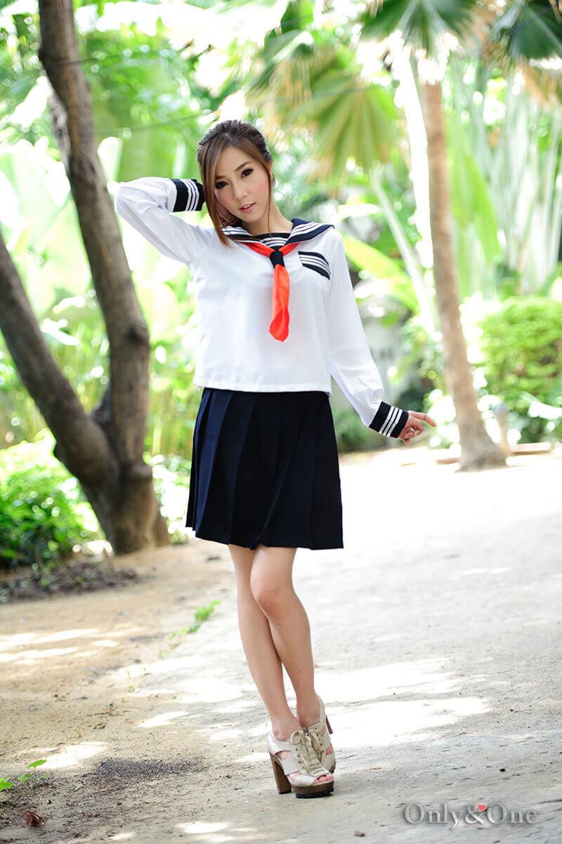 セーラー服長袖0004
