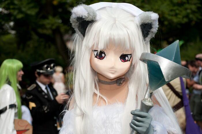 猫コスプレのおすすめ2(白猫)