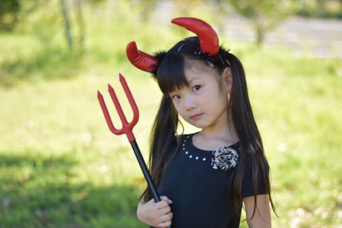 小悪魔デビルで楽しくかわいいコスプレ
