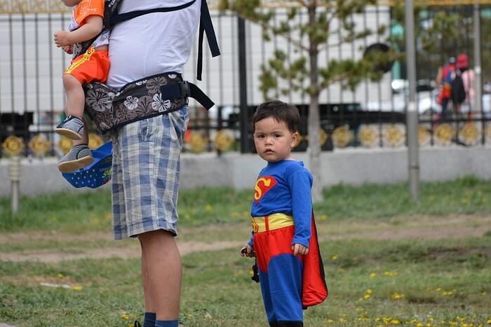子供コスプレ スーパーマン