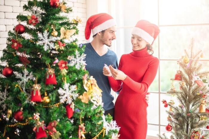クリスマスはカップルでコスプレ