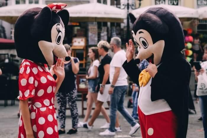 カップルコスプレ2 ミッキーとミニー
